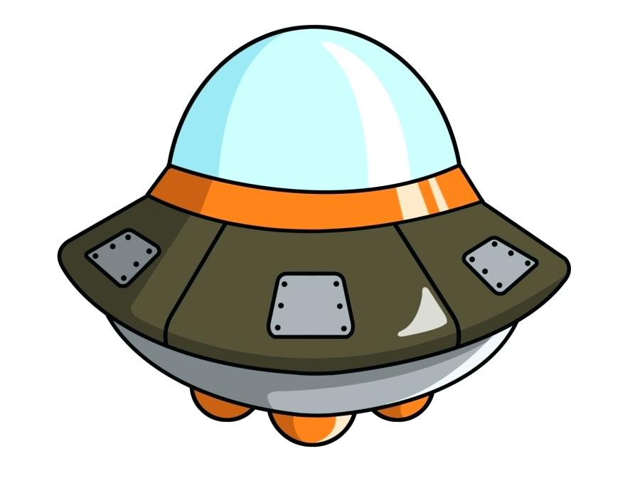 Spaceship clipart. Alien clip art tinymighty