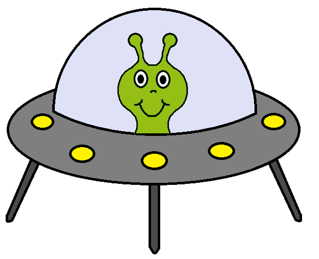 Ufo clipart clear background. Alien spaceship