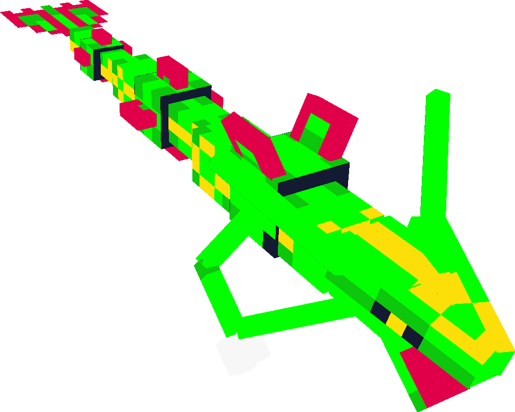 Spaceship clipart aerospace engineering. Rayquaza minecraft addons tynker