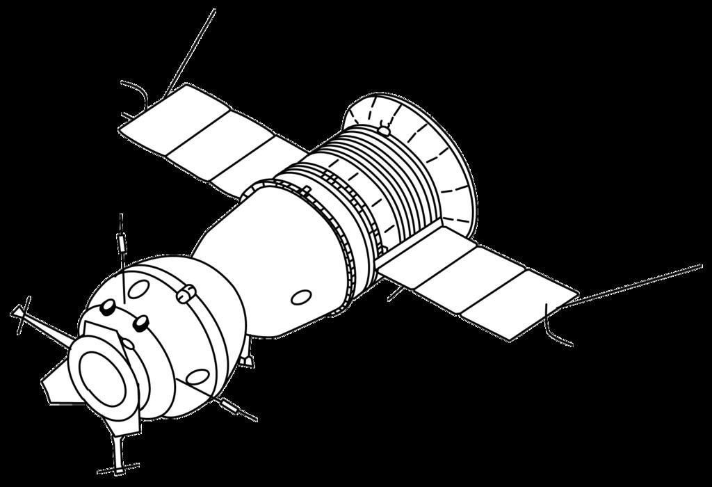 Images of spirit space. Spaceship clipart apollo
