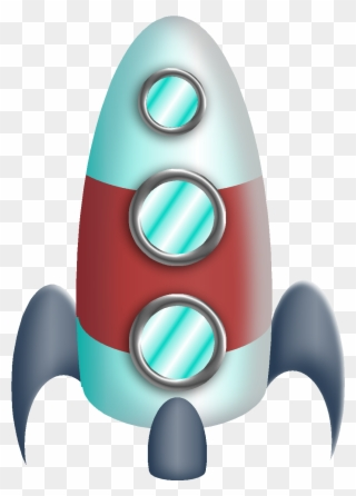 Aliens outer space bulletin. Spaceship clipart astronaut