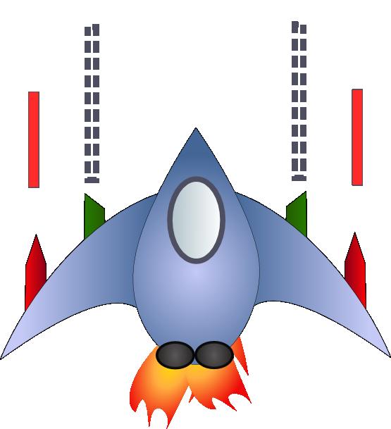 Spaceship clipart chicken invader. Clipartist net space madbad