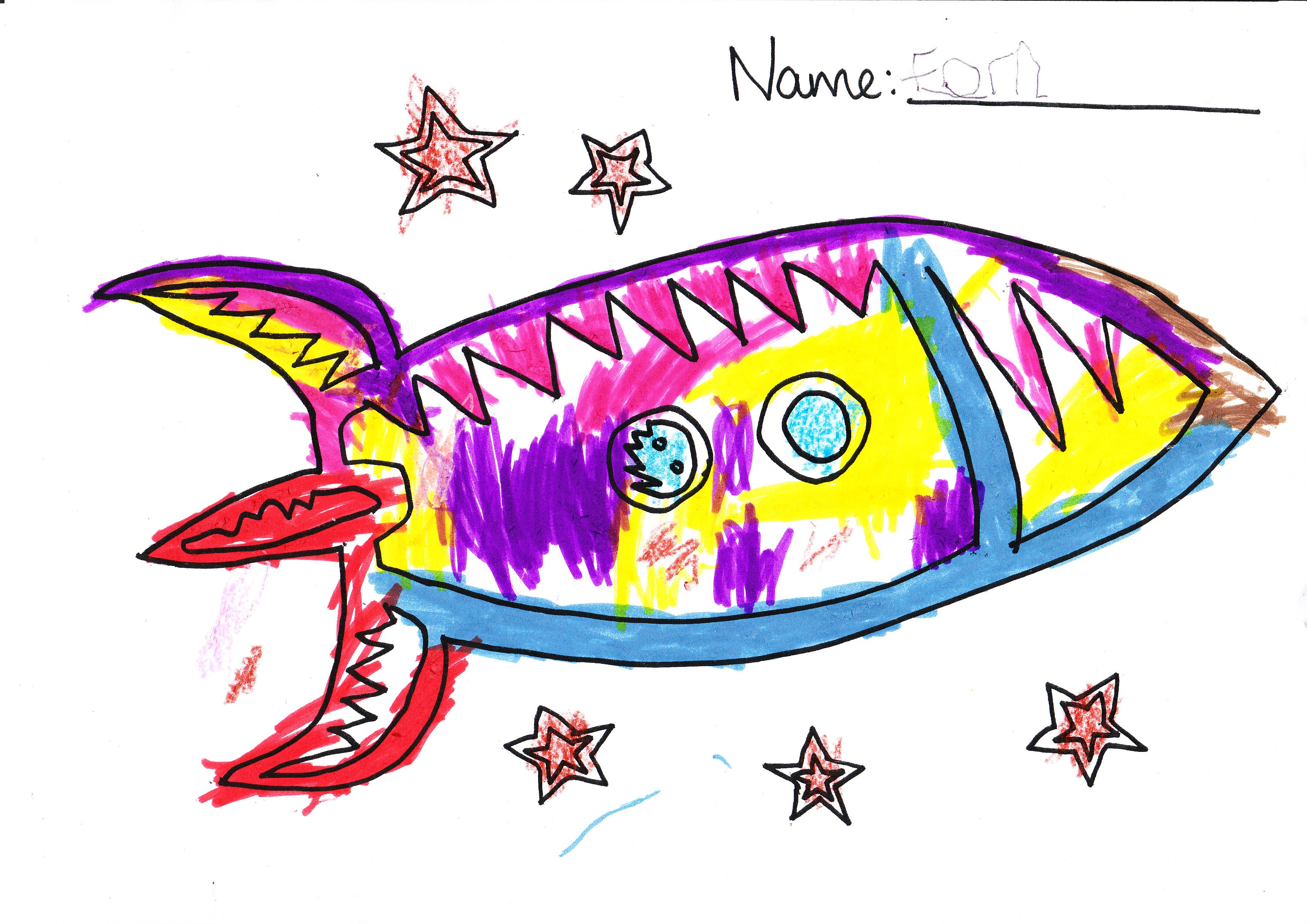 Drawing for kids free. Spaceship clipart children's