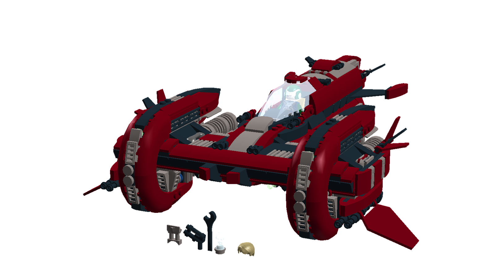 Lego ideas product tesla. Spaceship clipart cockpit