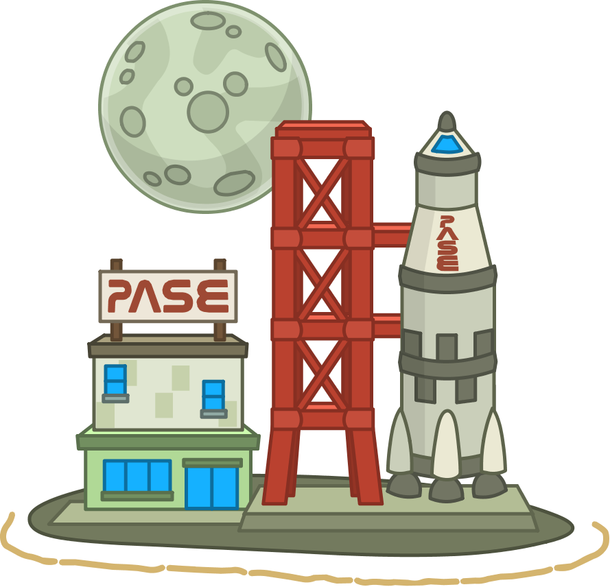 Lunar colony island guide. Spaceship clipart control panel