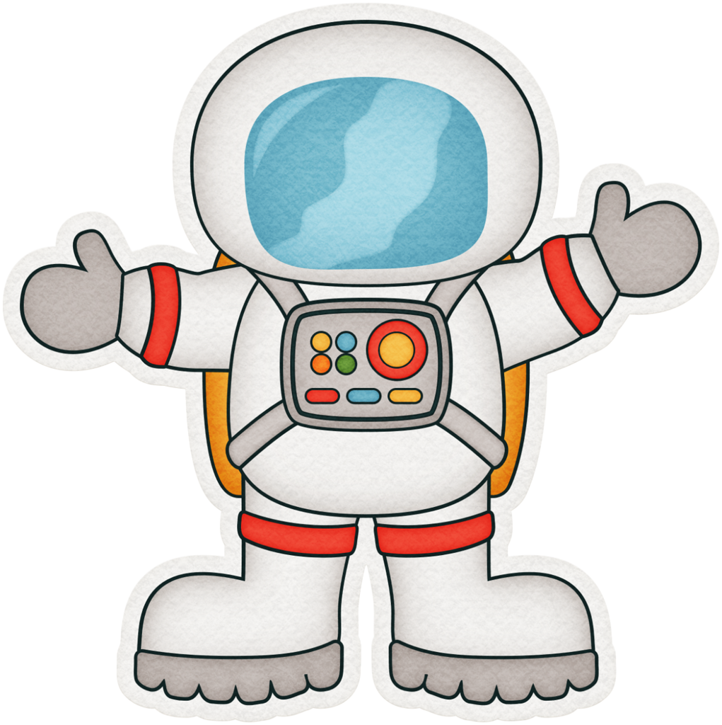 Astronaut sticker faceframe png. Spaceship clipart control panel