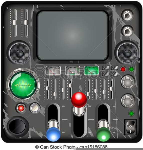 Free images at clker. Spaceship clipart control panel