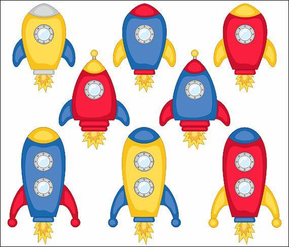 Spaceship clipart cute. Spaceships clip art rocket