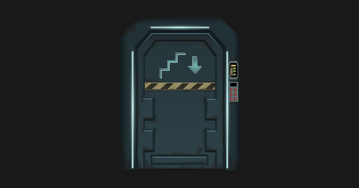 Glitch furniture by wetdryvac. Spaceship clipart door