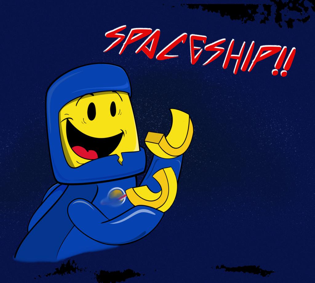By cartuneslover on deviantart. Spaceship clipart easy cartoon