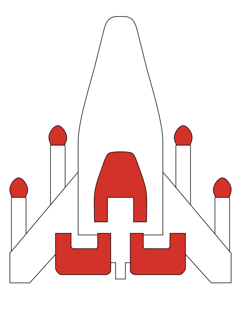 Spaceship clipart fighter. Galaga by juniorgustabo on