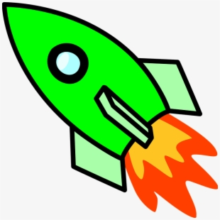 Spaceship clipart fire. Rocket free