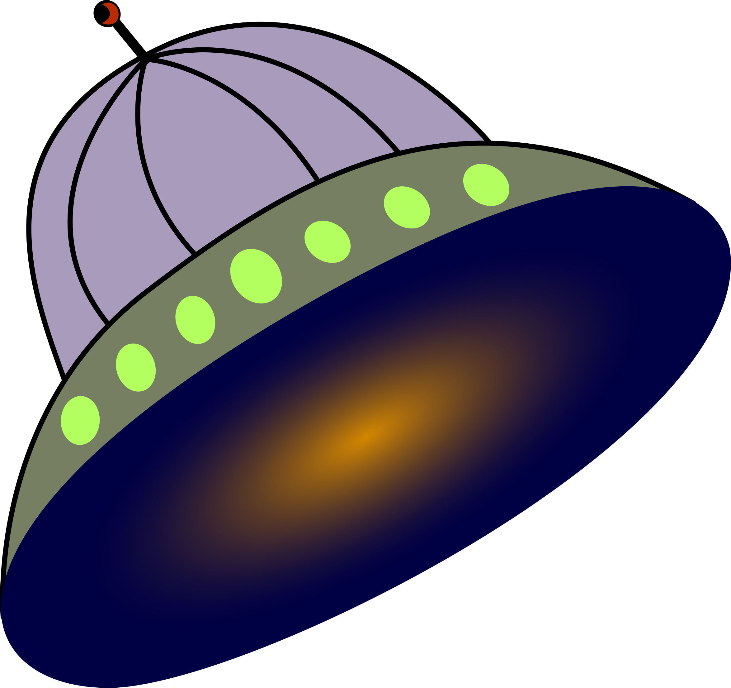 Big image png. Spaceship clipart flying saucer