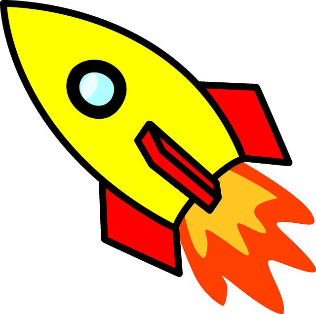 Spaceship clipart fusee. Image gratuite sur pixabay