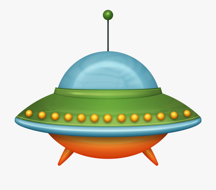 Space alien cartoon png. Spaceship clipart green