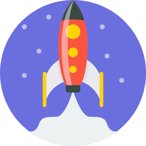 Spaceship clipart ico. Off launch mintie rocket