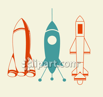 Spaceship clipart missiles. And image com