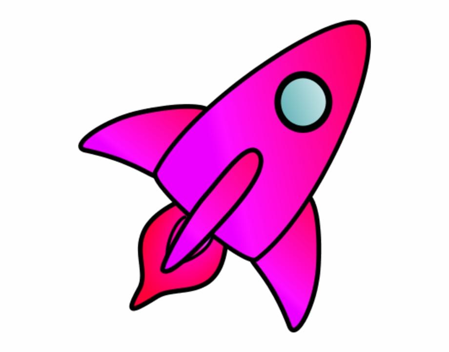 Spaceship clipart purple. Pink green rocket transparent