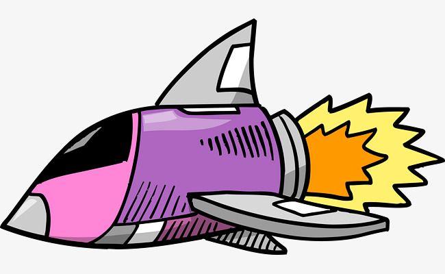 Pin by marwa mattar. Spaceship clipart purple