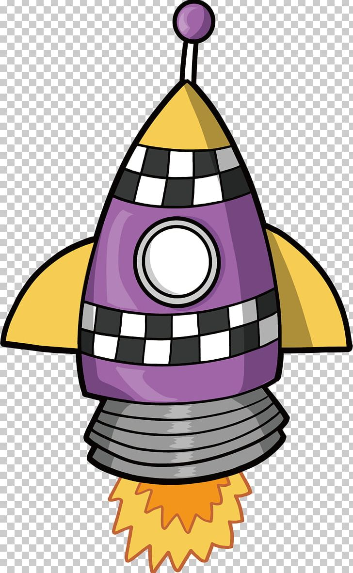 Flight rocket spacecraft png. Spaceship clipart purple