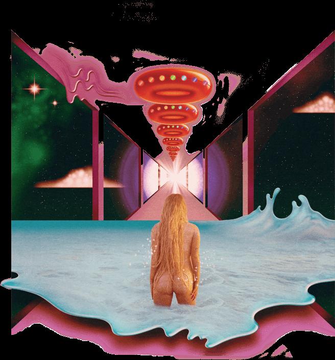 Ufo clipart rainbow. Kesha music album spaceship
