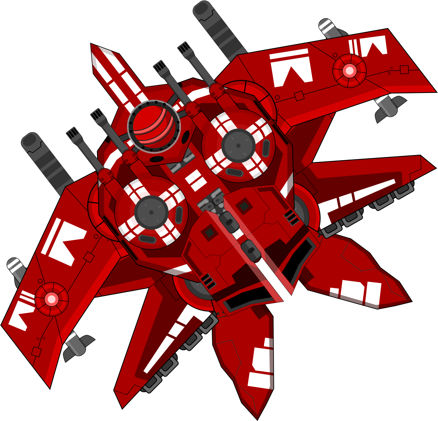 Hd free unlimited . Spaceship clipart red