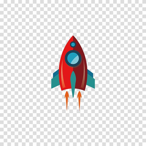 Spaceship clipart red. And green ship graphic