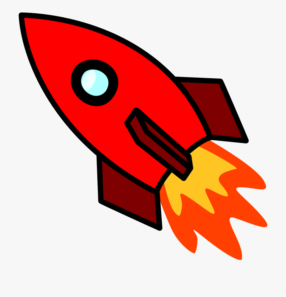 Spaceship clipart red. Transparent rocket cliparts