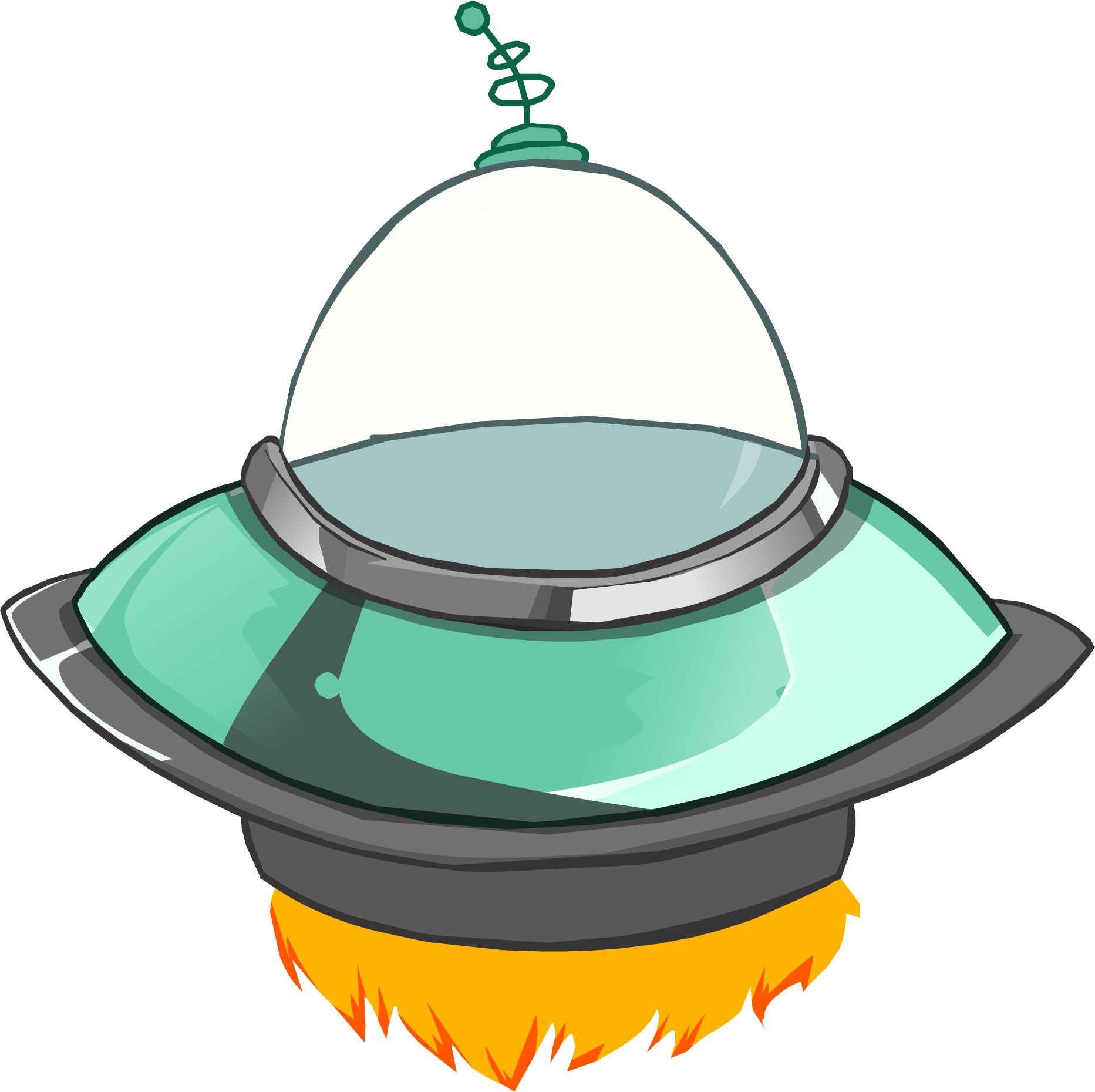 Costume club penguin wiki. Ufo clipart spaceship