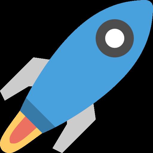 Exploration nasa space icon. Spaceship clipart rocket fuel