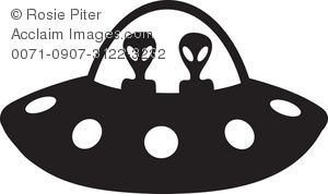 Pin on halloween diy. Spaceship clipart silhouette