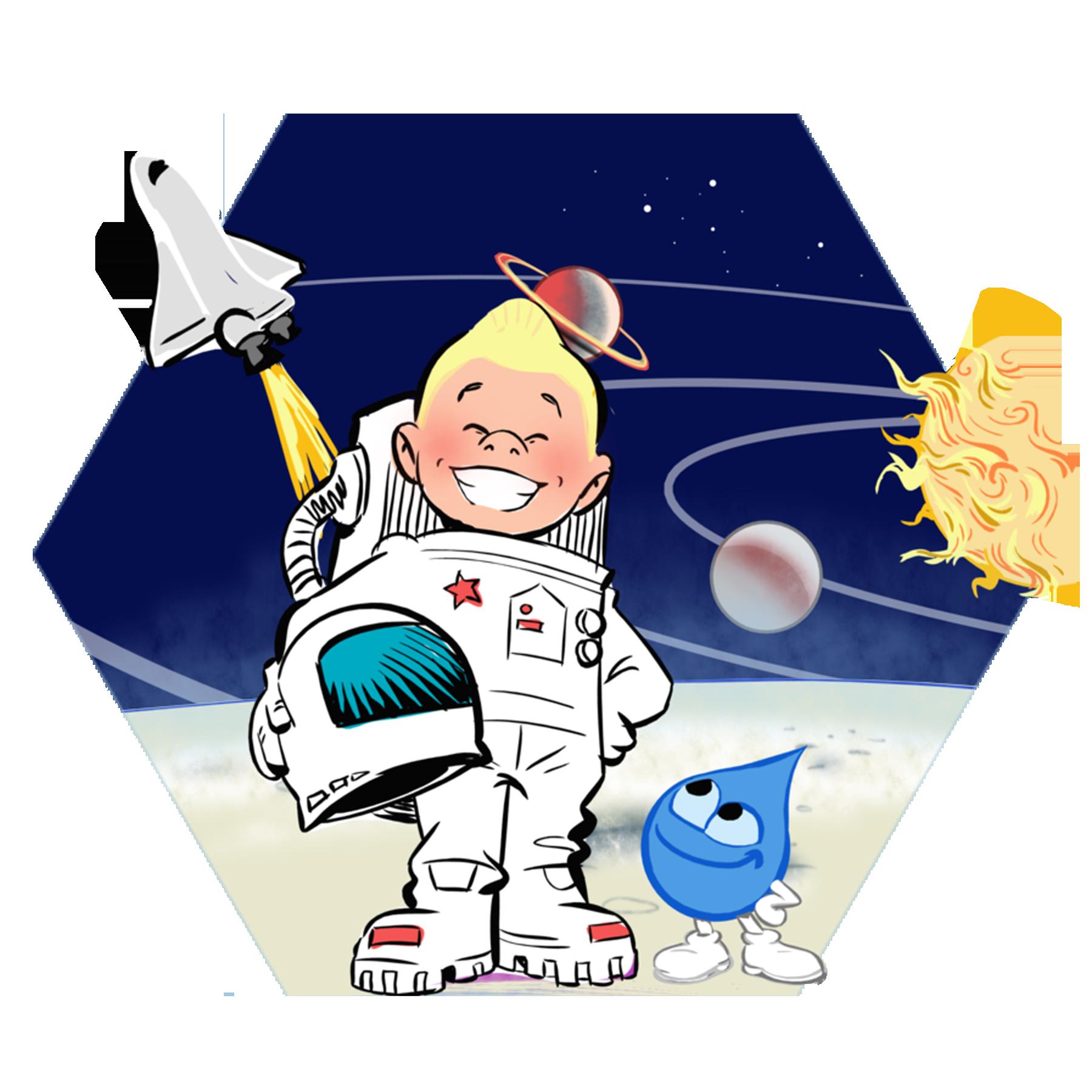 Profaqua explorationspatialeprojet. Spaceship clipart space exploration