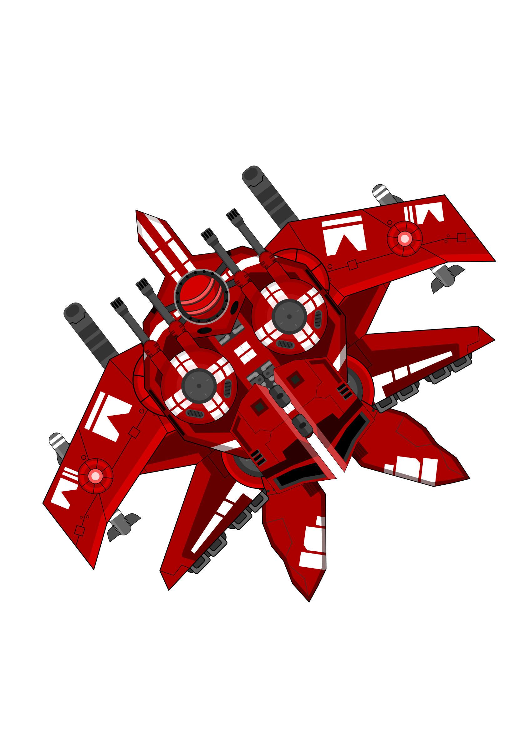 Spaceship clipart space fighter. Red big image png