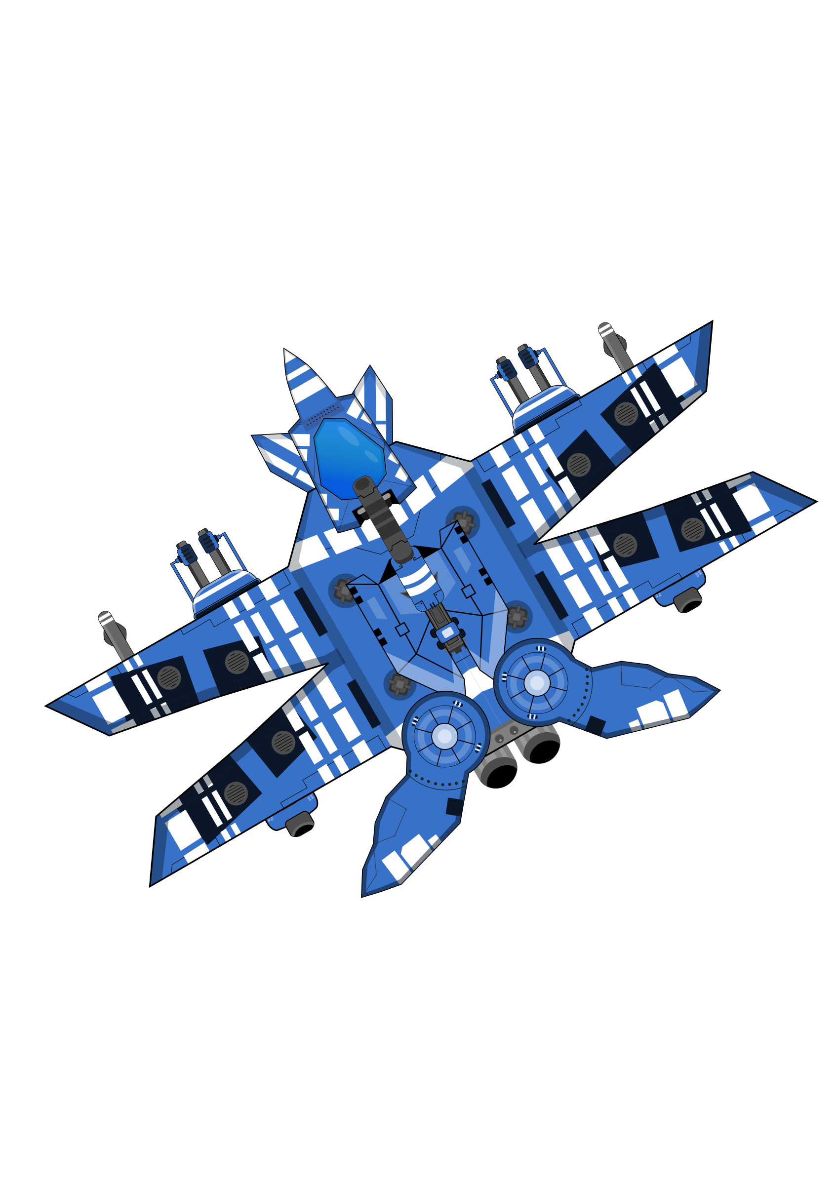Blue big image png. Spaceship clipart space fighter
