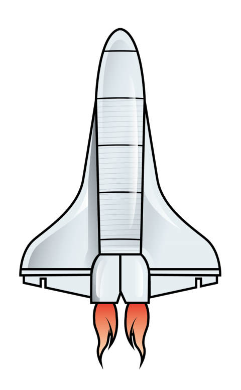 Free download clip art. Spaceship clipart space shuttle
