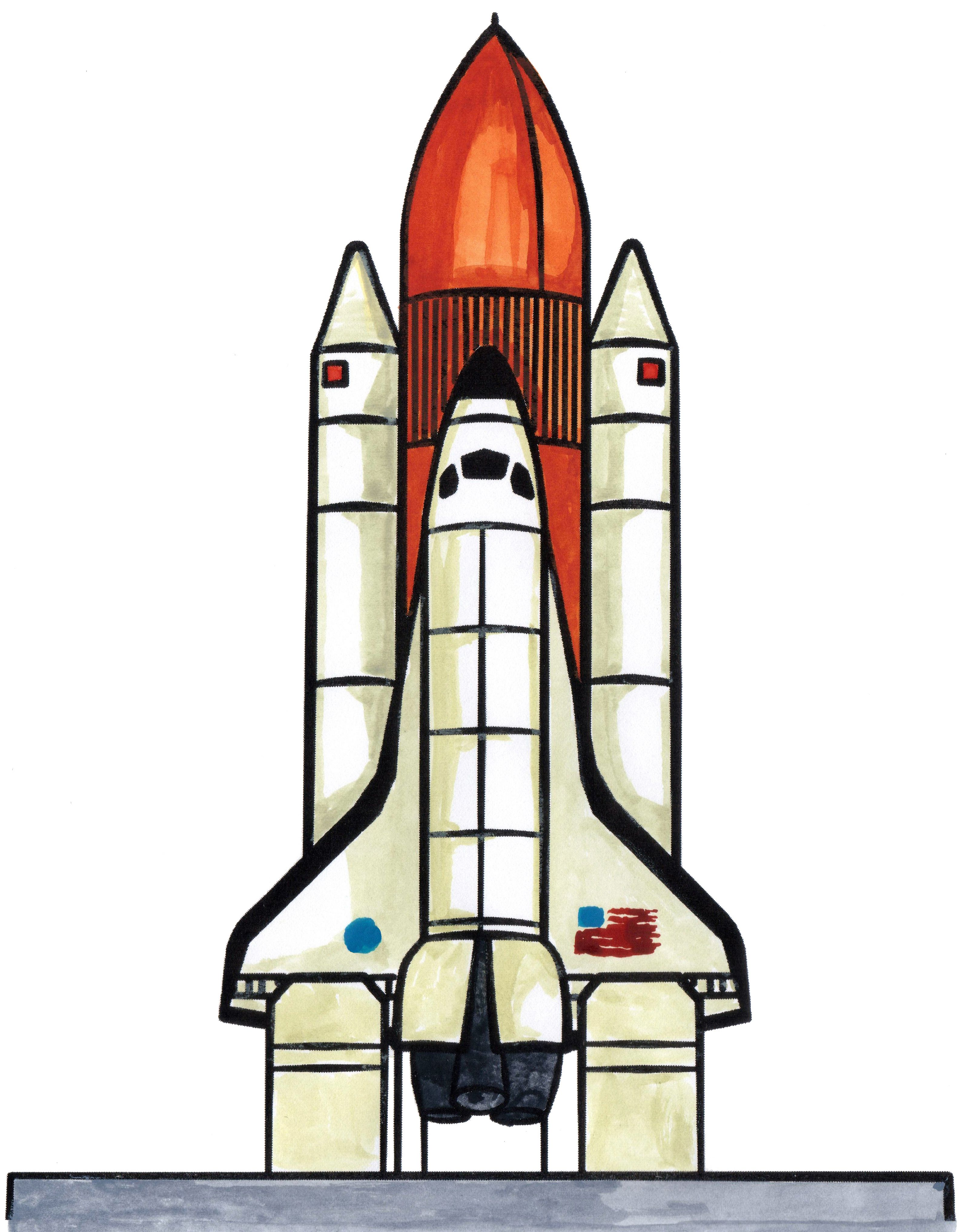 Spaceship clipart space vehicle. How to draw a