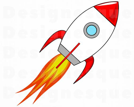 Space rocket launch svg. Spaceship clipart spacerocket