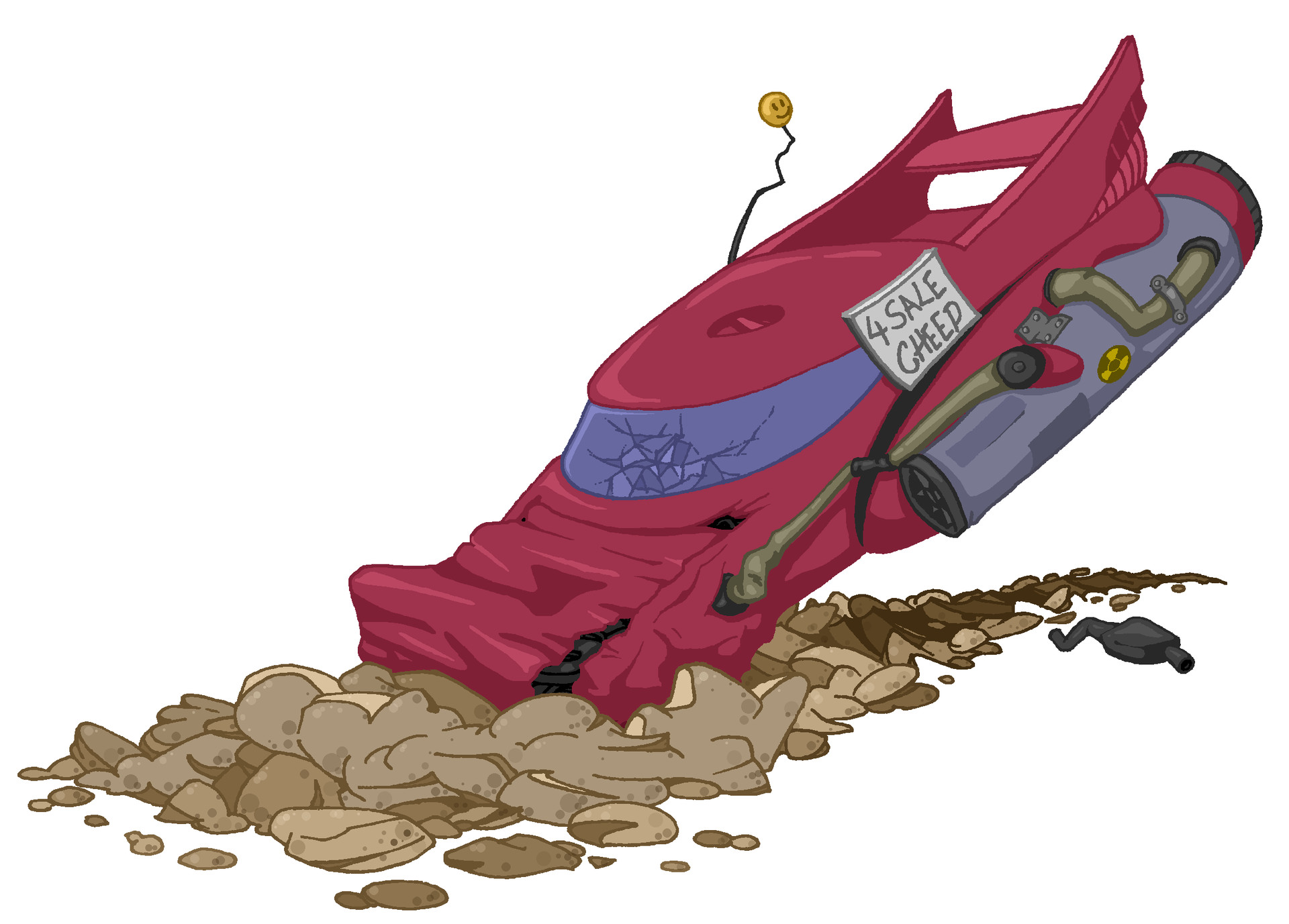 Artstation snails game assets. Spaceship clipart spaceship crash