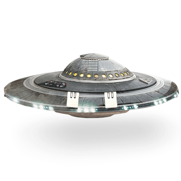 Spaceship clipart spaceship landing. Ufo flying saucer transparent