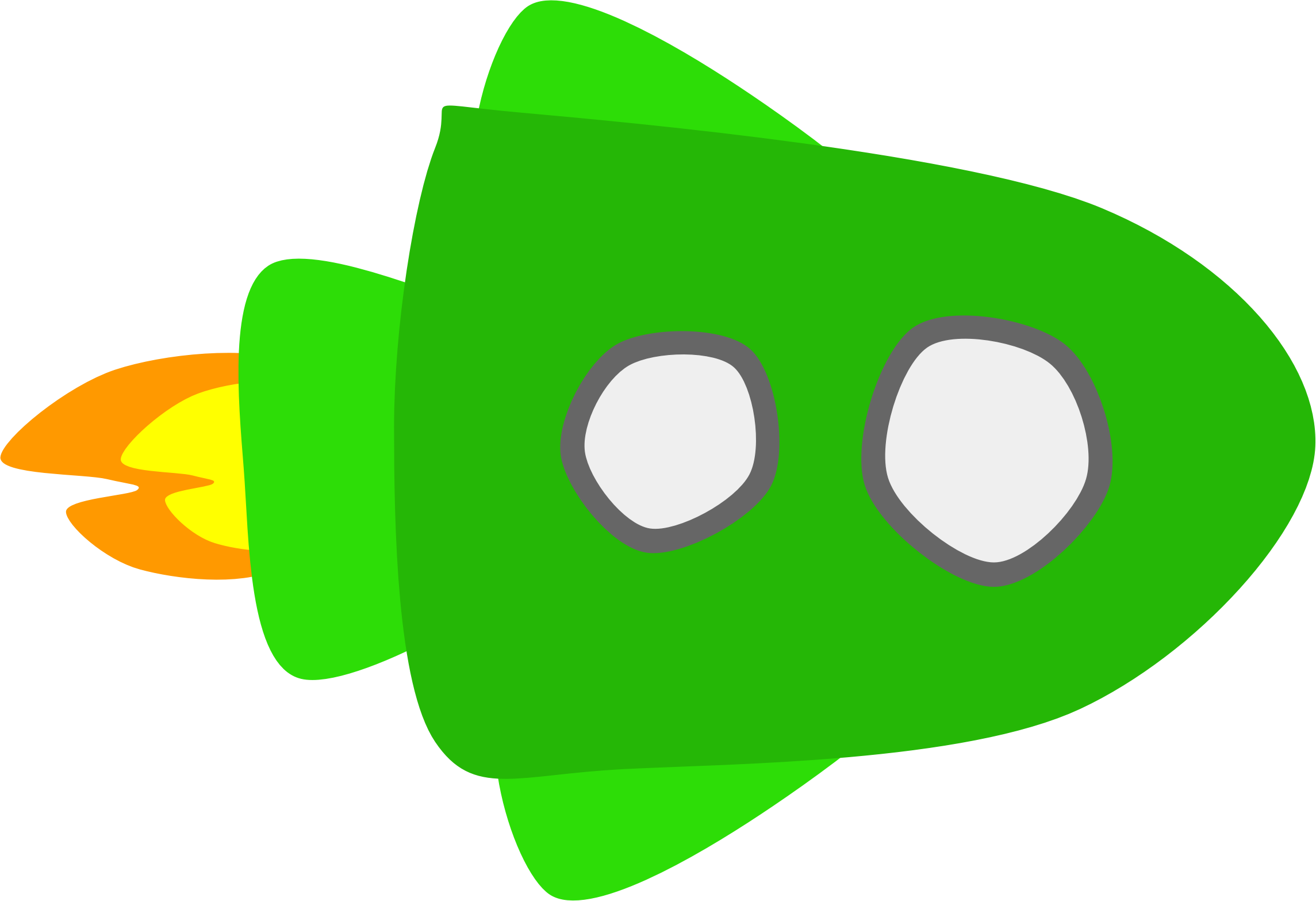 Green big image png. Spaceship clipart svg