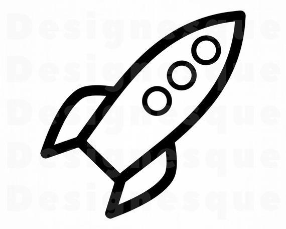 Rocket ship rocketship files. Spaceship clipart svg