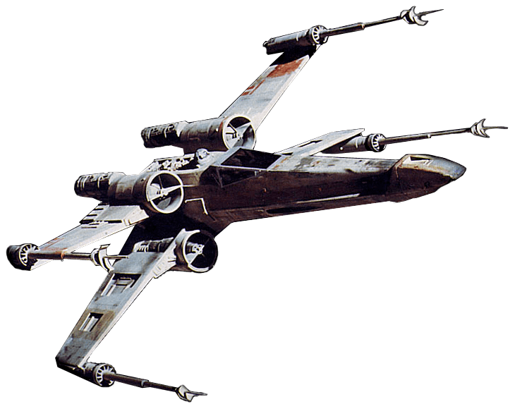 Star wars png stickpng. Spaceship clipart transparent background