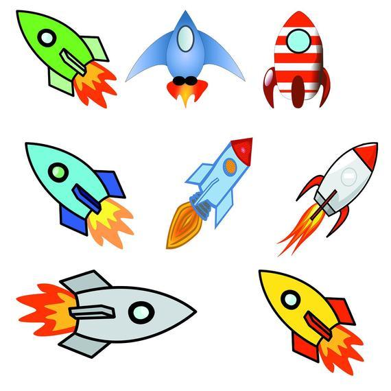 Rockets clip art spacecraft. Spaceship clipart water bottle rocket