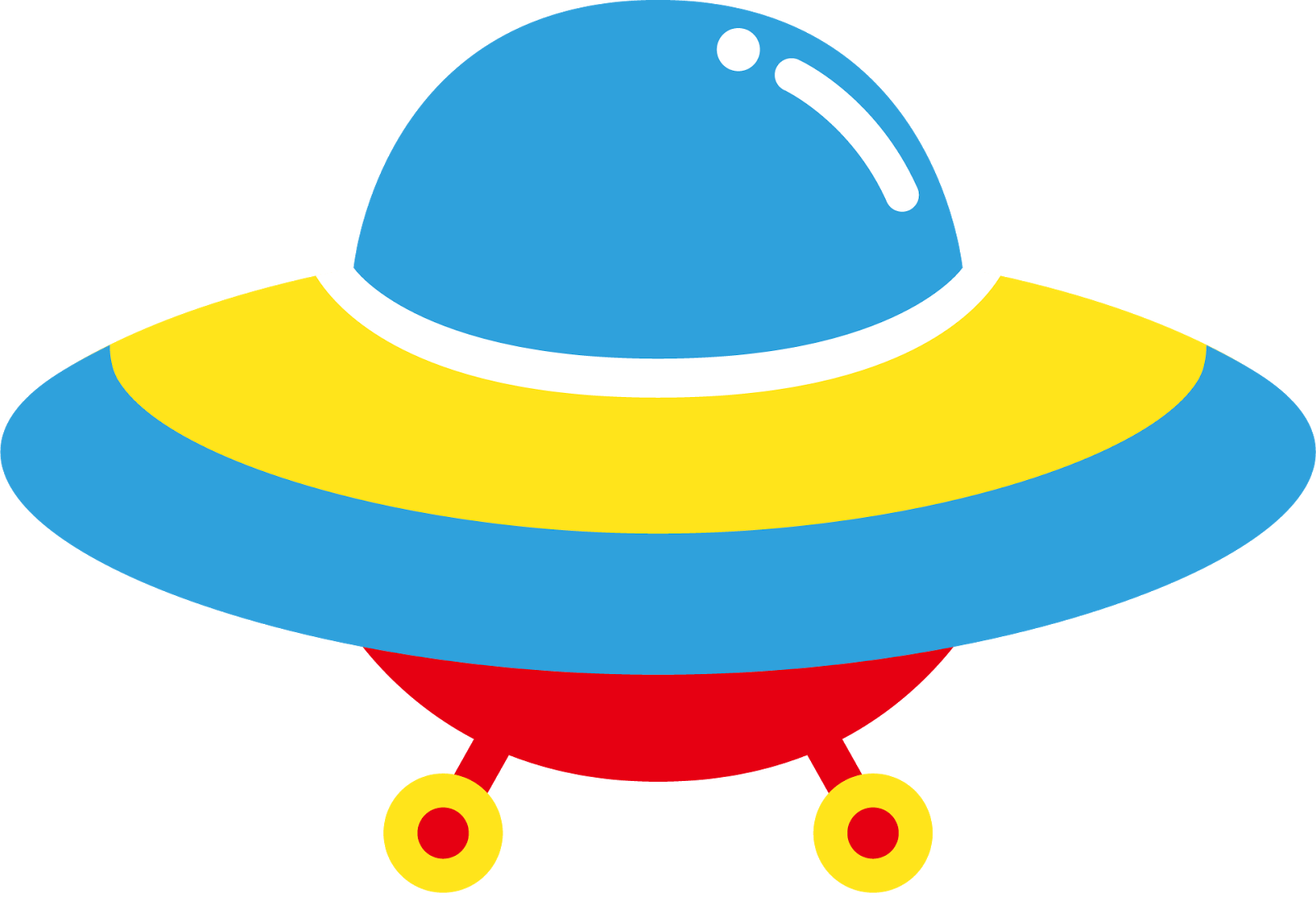 Spaceship clipart yellow. Aliens astronauts and spaceships