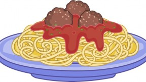 And meatballs with italian. Spaghetti clipart