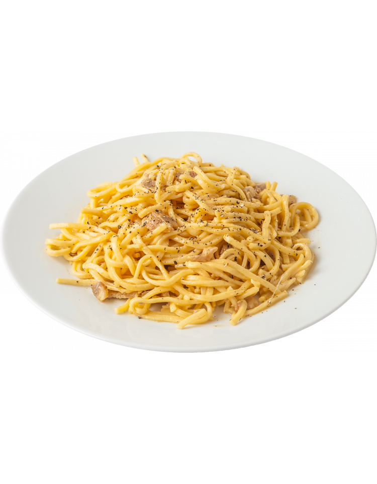 Spaghetti clipart carbonara. Delivery of real italian