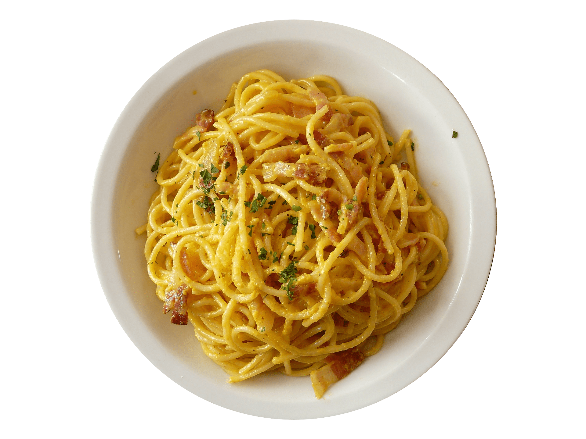Noodle png images free. Spaghetti clipart carbonara