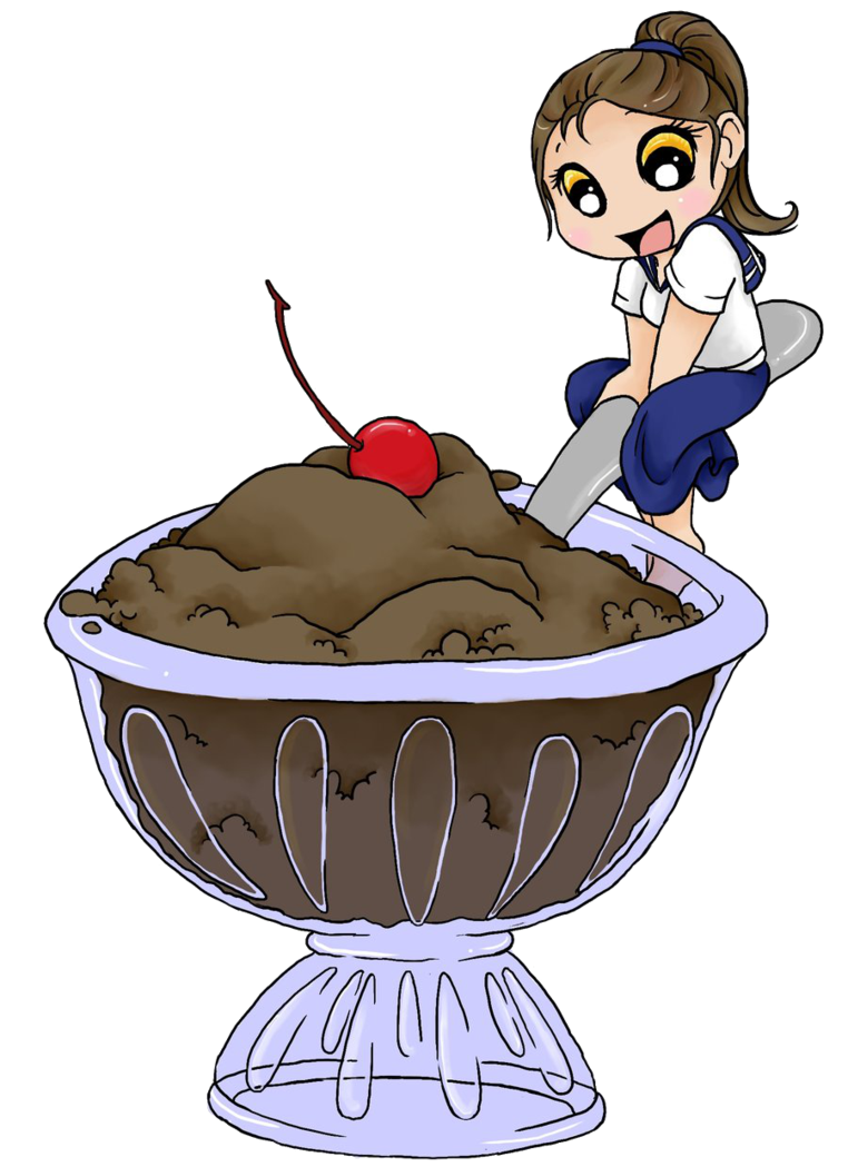 Spaghetti clipart food tech. Chibi sweets ice cream