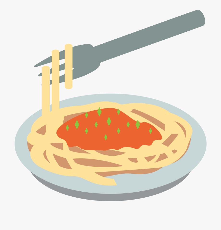 Emoji png cliparts . Spaghetti clipart food tech