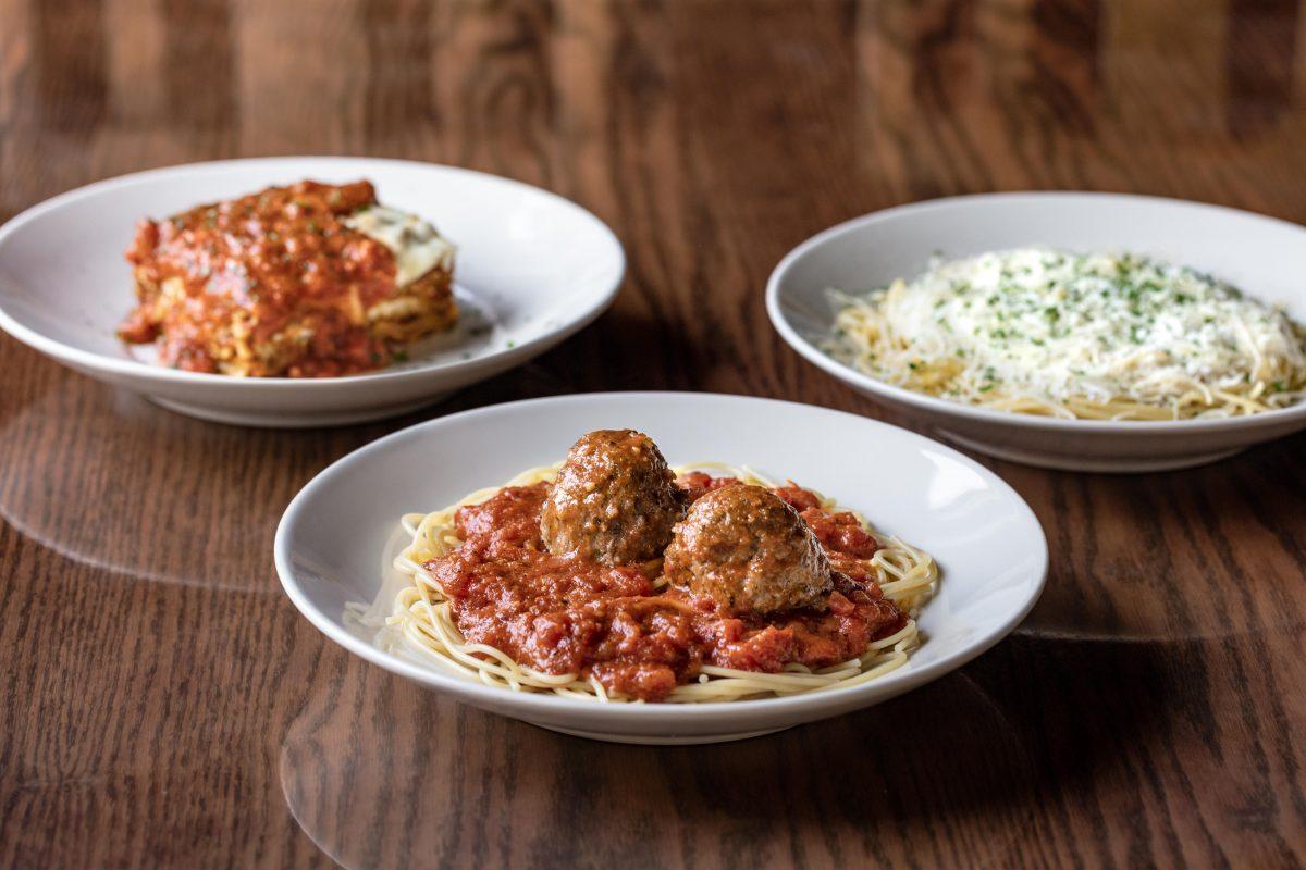 Spaghetti clipart full plate food. Featured italian meals the